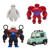 Big Hero 6 Squish to Fit Baymax - Includes Accessories & Car