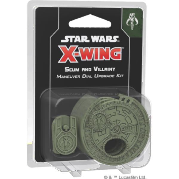 Star Wars X-Wing Second Edition Scum and Villainy Maneuver Dial Upgrade Kit Board Game