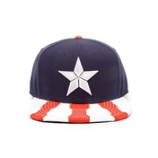 Marvel Comics Captain America Civil War Main Logo Snapback Baseball Cap