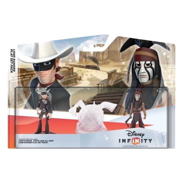Disney Infinity 1.0 Lone Ranger Playset (Ex-Display) Used - Like New - Image 1