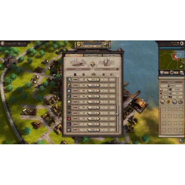 Patrician IV Gold Edition & Port Royale 3 Gold Edition Double Pack PC Game - Image 4
