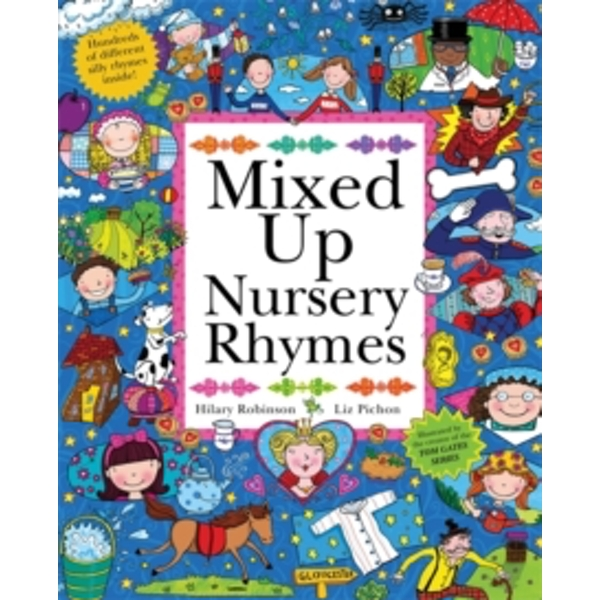 Mixed Up Nursery Rhymes : Split-Page Book