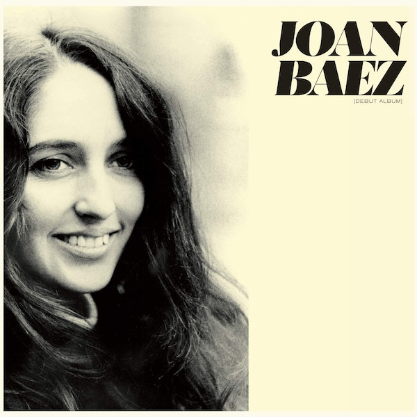 Joan Baez - Debut Album Limited Yellow  Vinyl