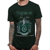 Harry Potter - Slytherin Quidditch Men's Medium T-Shirt - Green