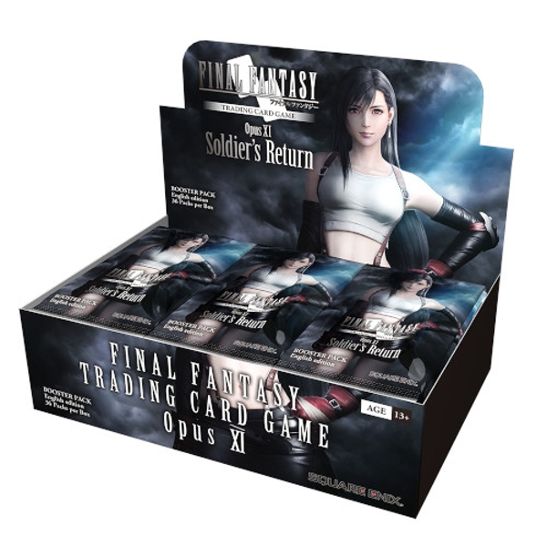 Final Fantasy TCG: Opus 11 XI Soldier's Return Booster Box (36 Packs)
