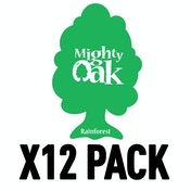 Rainforest (Pack Of 12) Mighty Oak Air Freshener