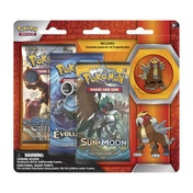 Pokemon TCG Entei Collector's Pin 3 Pack Blister