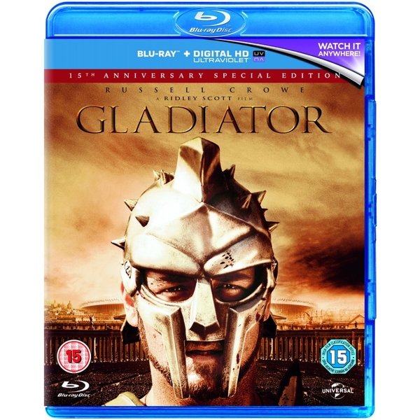 Gladiator - 15th Anniversary Edition Blu-ray   UV Copy