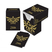 Ultra Pro The Legend of Zelda: Black and Gold Full View Deck Box