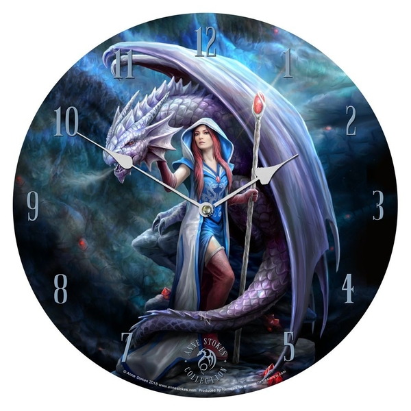Dragon Mage Clock
