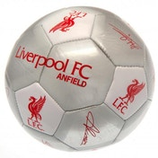 Liverpool FC Football Signature Silver