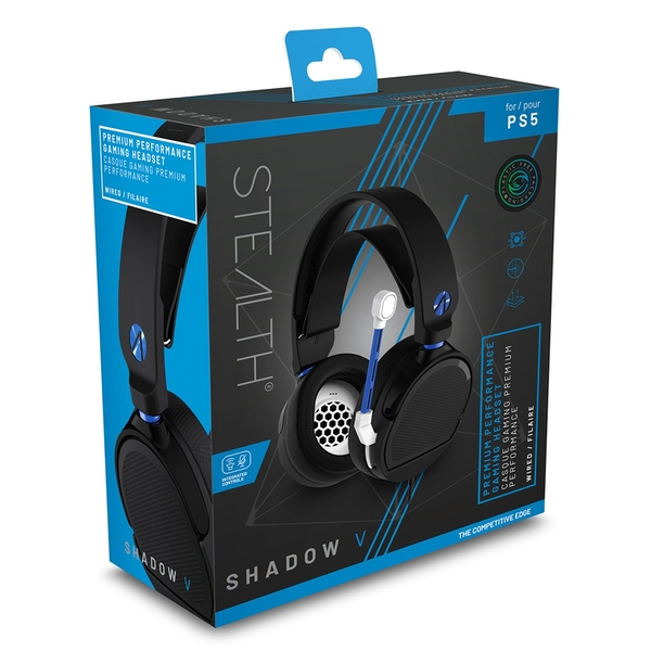 STEALTH SP-Shadow V Black Stereo Gaming Headset for PS5