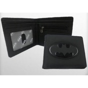 Batman Black Embossed Logo Wallet