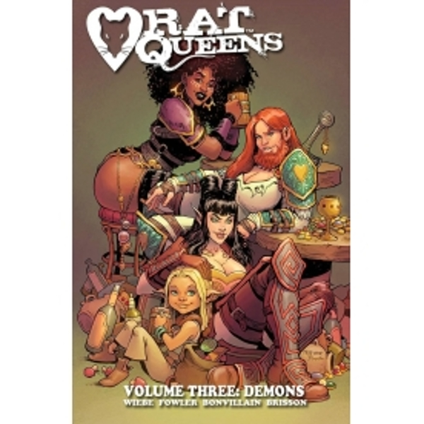 Rat Queens Volume 3 Demons