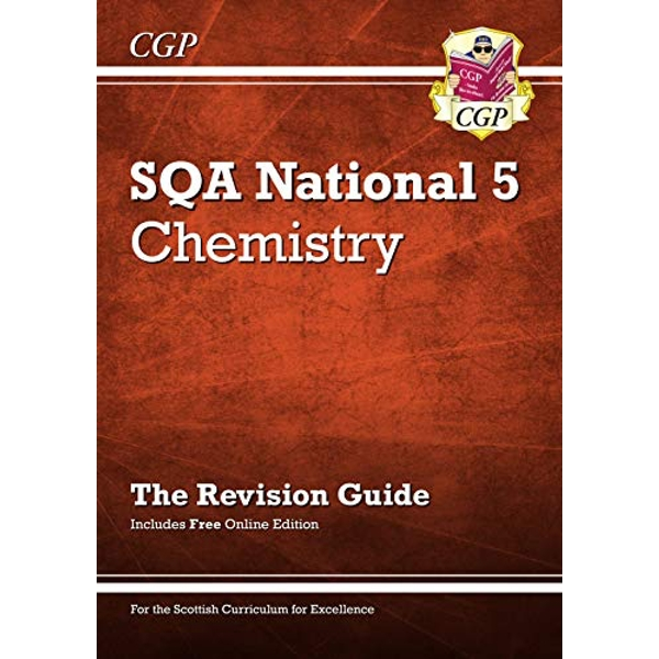 National 5 Chemistry: SQA Revision Guide with Online Edition  Paperback / softback 2018