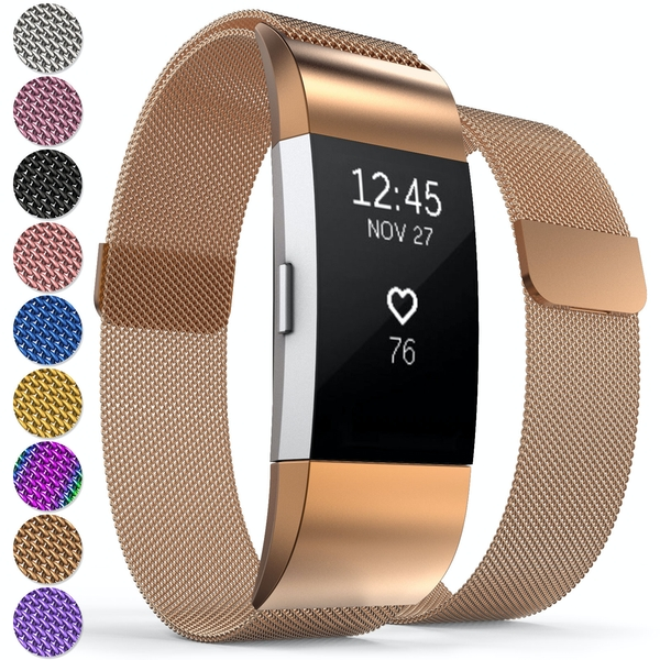 Proworks Activity Tracker Milanese Metal Strap - Rose Gold