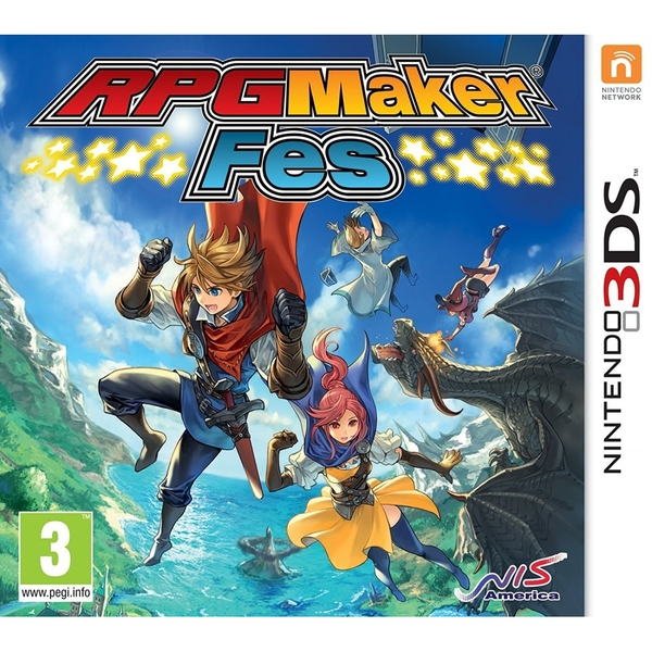 RPG Maker Fes 3DS Game