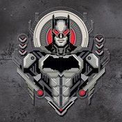Justice League Movie - Batman Armored Crest Canvas