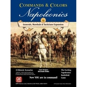 Commands and Colors Napoleonics Expansion 5 Generals, Marshalls Tacticians