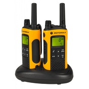 Motorola Talker T80 Extreme PMR446 2-Way Walkie Talkie Radio Twin Pack Yellow / Black