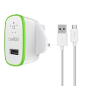 Belkin 2.4 Amp Home Charger with 1.2M Micro USB Cable - Black UK Plug