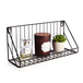 Wall Mounted Wire Shelves - Set of 2 | M&W IHB USA (NEW) - Image 3