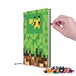 Pixie Crew (Minecraft) Green & Brown A5 Diary - Image 2