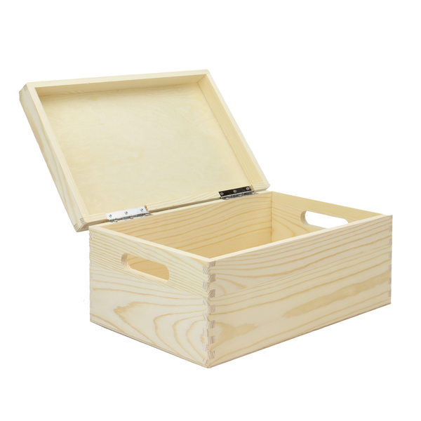 Wooden Storage Box | Pukkr