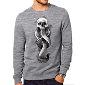 Harry Potter - Dark Art Snake Crew Men's Large Sweatshirt - Grey