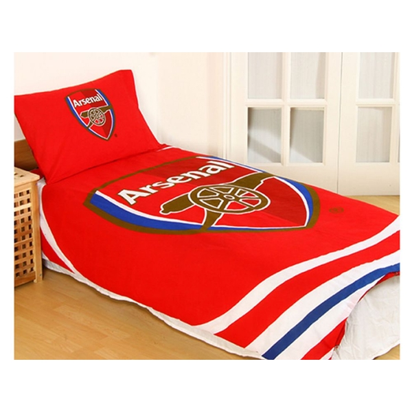 Arsenal Pulse Single Duvet and Pillow Case Set