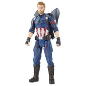 The Avengers Marvel Infinity War Titan Hero Power FX Captain America Figure