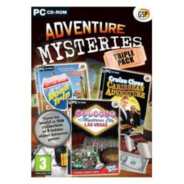Adventure Mysteries Triple Pack Game PC