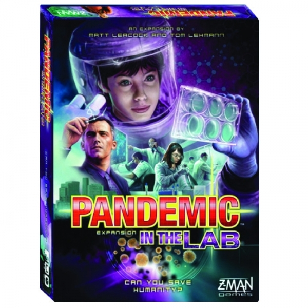 Pandemic In The Lab Expansion Board Game