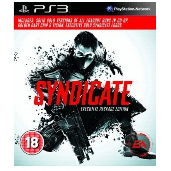 Syndicate Executive Packaging Edition Game PS3