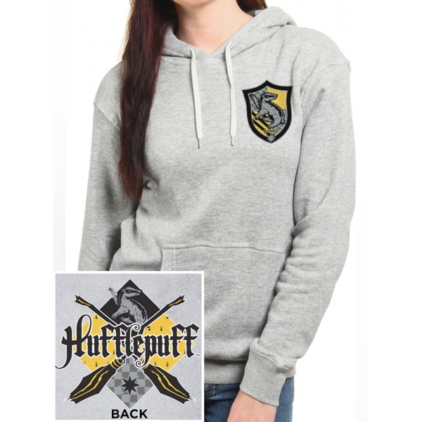4ea96ac9 Hey! Stay with us... Harry Potter - House Hufflepuff Women's Small Pullover  Hoodie - Grey