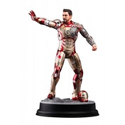 Dragon Models Marvel Iron Man Mark XLII Battle Damaged Vignette