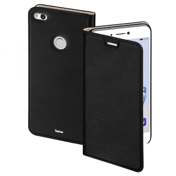 Hama Slim Booklet Case for Huawei P8 lite (2017), black