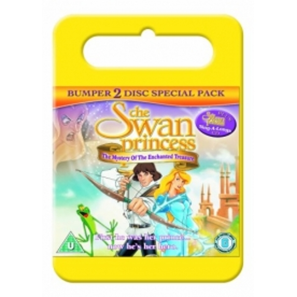 Swan Princess Mystery of the Enchanted Kingdom DVD