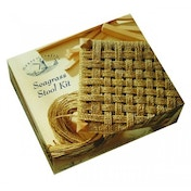 House of Crafts Seagrass Weaving Stool Kit