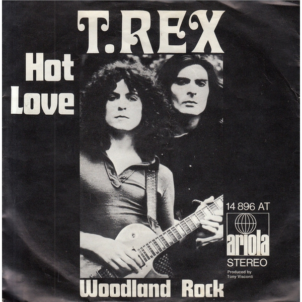 T. Rex ‎- Hot Love Vinyl
