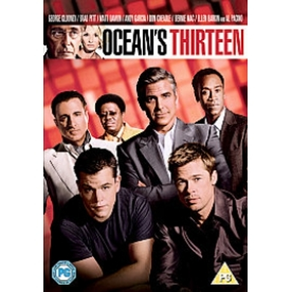 Oceans Thirteen DVD