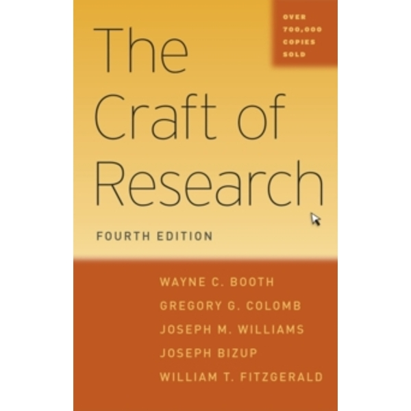 The Craft of Research (Paperback, 2016)