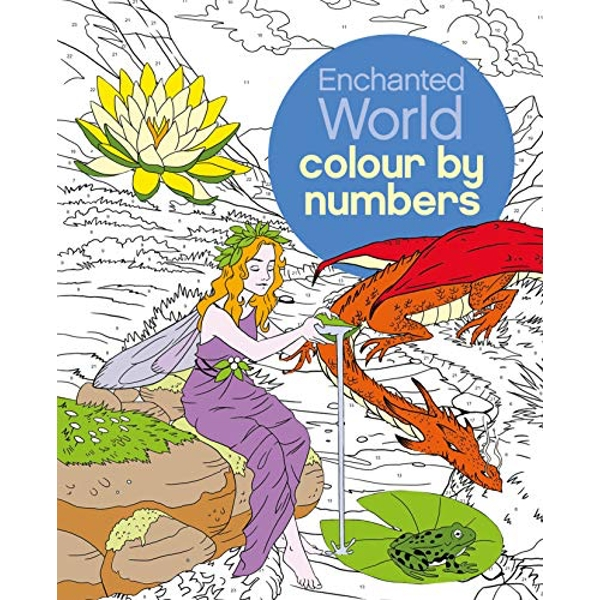 Enchanted World Colour by Numbers  Paperback / softback 2016