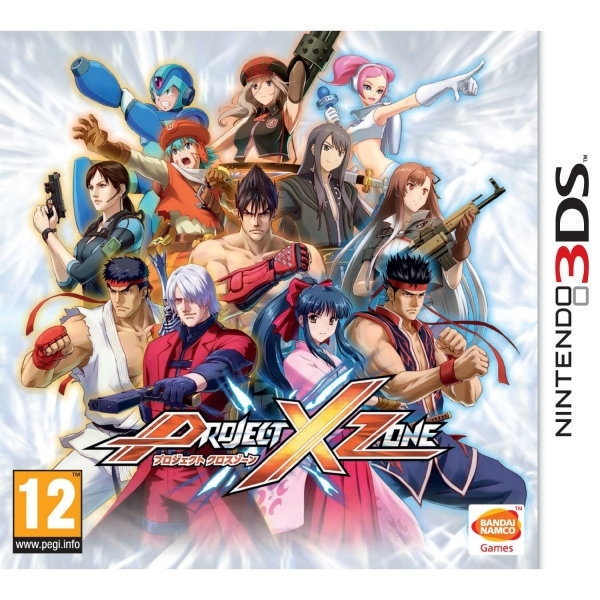 Project X Zone Game 3DS