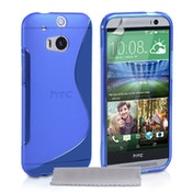 Caseflex HTC One S Silicone S-Line Case - Blue