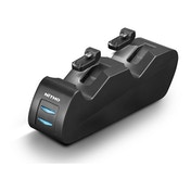 Nitho Charging Station For Two Controllers with Easy & Safe Plugs For PS4