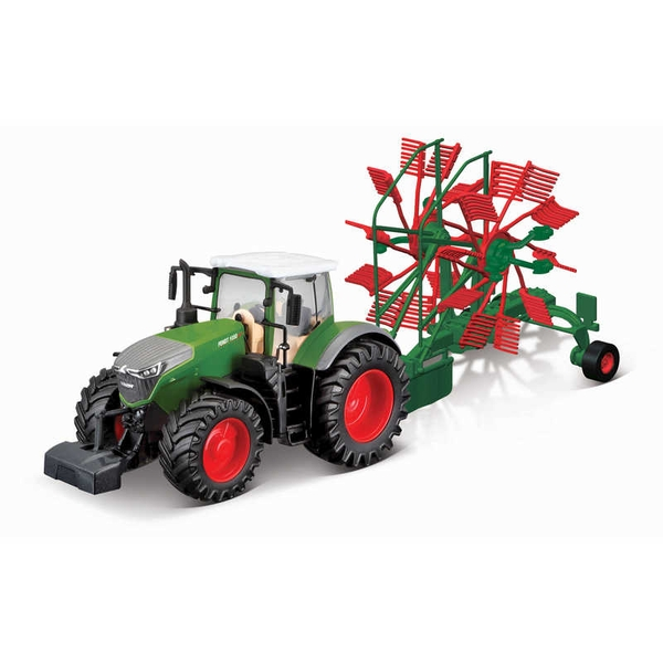 Fendt Vario With Whirl Rake Tractor Model