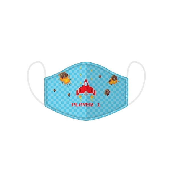 Game Over Reusable Face Covering - Large