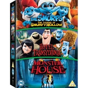 Hotel Transylvania / Monster House / The Smurfs The Legend Of Smurfy Hollow DVD