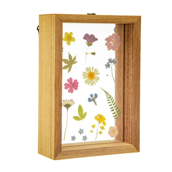 Sass & Belle Pressed Flowers Floating Frame